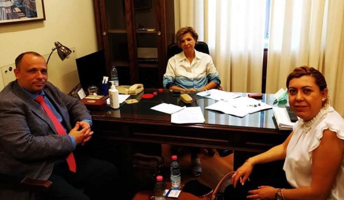 Επίσημη συνάντηση με την Γραμματέα Κ.Ο. ΣΎ.ΡΙΖ.Α. κ. Όλγα Γεροβασίλη.