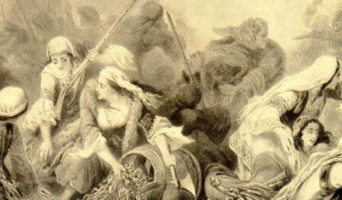 Αγωνίστριες της Ελληνικής Επανάστασης του 1821